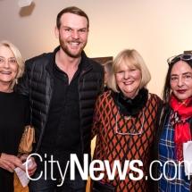 Gail Guy, Aaron Spencer, Julie Spencer and Eva Hesse