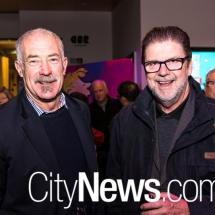 Glenn Benstead and Ross Cunningham