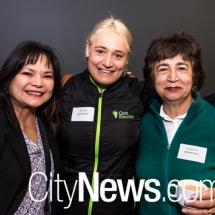Irma Smith, Maria Clark and Rita Schiavello