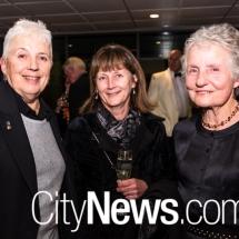 Lynne Evans, Fiona Davey and Andrea McDonald