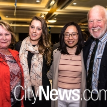 Nicole Lawder, Joanne Barron, Mary Huang and Neil Hermes