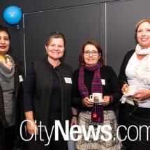 Remy Raj, Michelle Kroll, Cheryl Warnock and Tracey Hackett