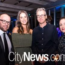 Tim and Belle Chadwick, Shaun Humphreys and Sarah Annand