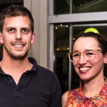 Angus Esselmont and Catherina Pagani
