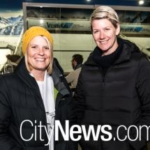 Bess Slater and Carly Bonny