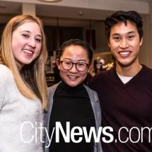 Caitlin Plesek, Tian Zhang and Alexander Vuong