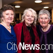 Catherine Bandle, Sandie Kaine and Eileen Bryan