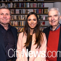 Chris Uhlmann, Shaya Dashtinezhad and Don Aitkin
