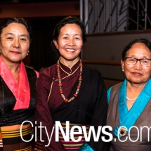 Deki and Dolma Tsering with Migmar Chungkying