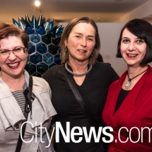 Denise Sutherland, Liz Kelly and Lindy Allen