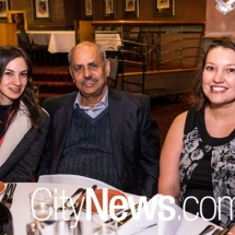 Jade Gatto, Prakash Mekta and Sian Williamson