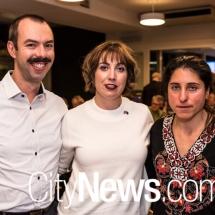Joe Hogan, Katie Mouser and Maria Koulouris