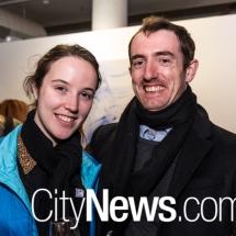 Lauren Croser and Matt Giles