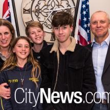 Lisa, Julia, Nicholas, Angus and Michael Wagstaff