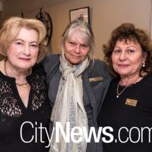 Mary Young, Brenda Watts and Amelia Favretto