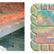 (left to right) Untitled by Abigail Varney and Bakjes by Nina Baker.