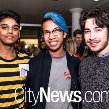 Rishi Dhakshinamoorthy, Timothy Leong and Morgan Kikkawa