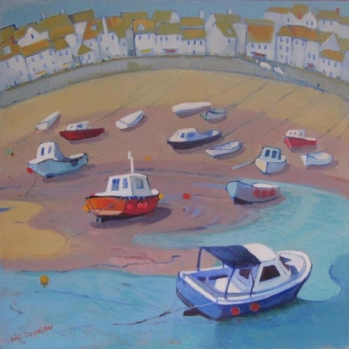 "art / ""Colours of Cornwell"" by Val Johnson, at Strathnairn Arts, Stockdill Drive, Holt, until August 19. Reviewed by ROB KENNEDY."