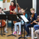"""Young Music Society participants at its """"zippy"""" Winter Music School. Photos by Stephen Leek"""