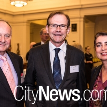 Alfred Reichert, Nick Cater and Dr Beatrice Gorawantschy