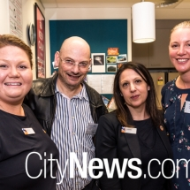 Amy-Lee Horsburgh, Dr Richard Archer, Sabrina Cecchini and Leanne Hawkins