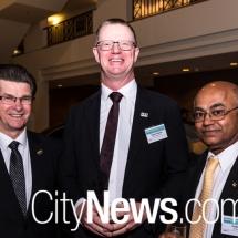 Brendan Smyth, Robert Shelton and Prabir De