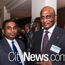 Chandana Weerasena and Dr Elmo Jacob