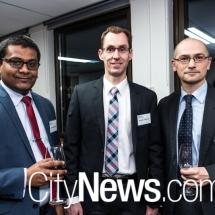 Dilan Weerarathna, Rodney Johnston and Dinko Colak