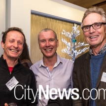Dr Julian Russell-Jones, Dr Cris Roberts and Dr Charles Howse