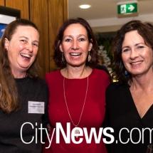 Fiona Daniell, Angela Drayton and Debra Howse
