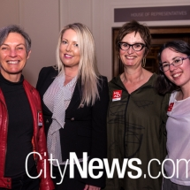 Gabrielle Edwards, Melissa Holcroft, Sabina Moore and Anna O'Leary