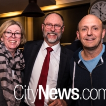 Kathy O'Sullivan, Bill Lawrence and Richard Denniss