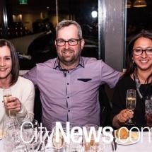 Lisa Huggins, Adam Naylor and Sharon Geiles