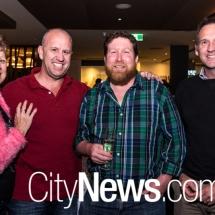 Lorraine and Brad Ryan, Duane Roberts and Matt Ryan