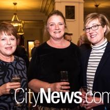 Lousie Doyle, Cheryl Jackson and Emily Birks