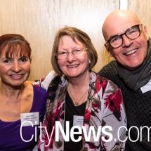 Maylin Duke, June Buchanan and Tony Wilkes