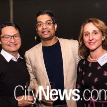 Nick Tsai, Himanshu Diwikar and Trisha Wong