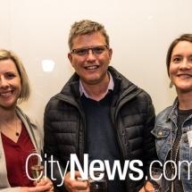 Nicole Emslie, Chris Hoorweg and Peta Hart