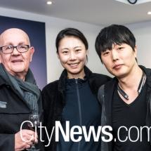 Robert Lillington with Nile and Chris Kim