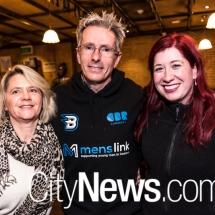 Sandra and Martin Fisk with Tara Cheyne MLA
