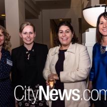 Tanya Olinder, Melissa Hendrie, Sharon Locker-Lloyd and Karen Shaw