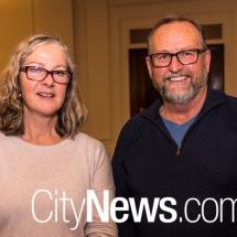 Tanya Roberts and John Wayte