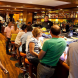 "Busy A Taberna do Bispo… ""We ordered two glasses of whatever the waiter thought fit,"" writes Richard Calver."