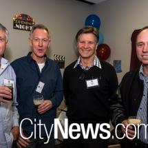 Chris Bayley, Ian Bingley, Ottmar Weiss and Leon Bingley