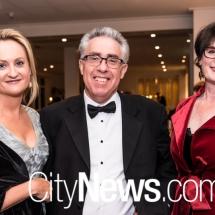 Cindy Penrose, Ken Archer and Fiona McLeod SC