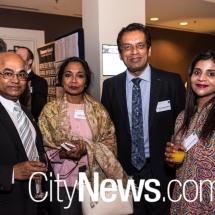 Dr Prabir De, Radhika Reddy, Prof. Dharmendra Sharma and Pallavi Dutt Singh