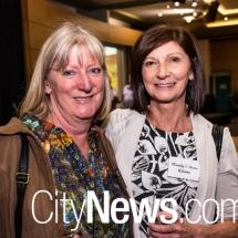 Fiona Shaw and Wendy O'Meara