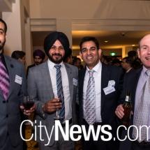 Garry Malhotra, Gurjant Singh, Rattesh Gumber and Warren McCourt