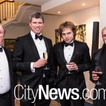 Gavin Howard, John Larkings, James Haddock and Gregor Urbas