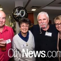 Ian Frame, Leanne Kelleher, Glenn Hodgson and Leanne Cowie
